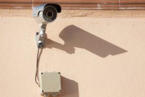 Eine Kamera-Attrappe für Außen