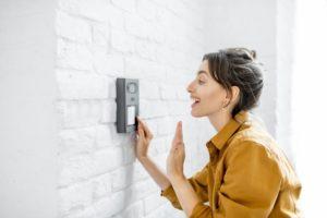 Ein Beispiel für die Anwendung einer Funk-Video-Türsprechanlage